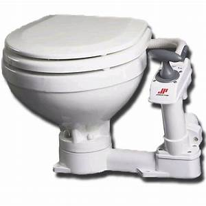 Sea Toilet Manual Comfort Bowl Boat Toilet