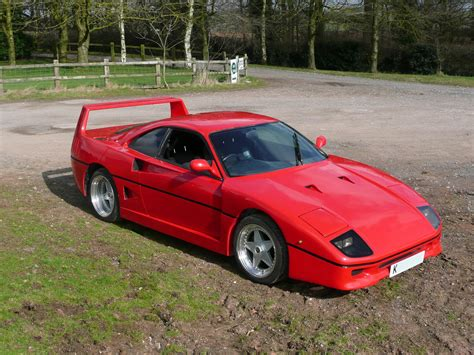 Ferrari fiero body kits january 28, 2017 january 28, 2017 ~ mcdent every once in awhile i come across an absolute marvel of automotive engineering, the infamous pontiac fiero. 18 Inspirational Ferrari F40 Kit Car Body - Italian Supercar