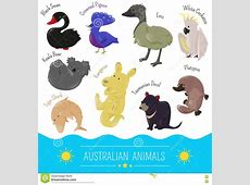 Australian Cartoon Person Postal Stamp Cartoon Vector