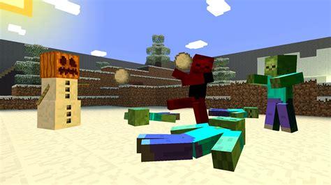 golem minecraft snow zombies vs gmod redd