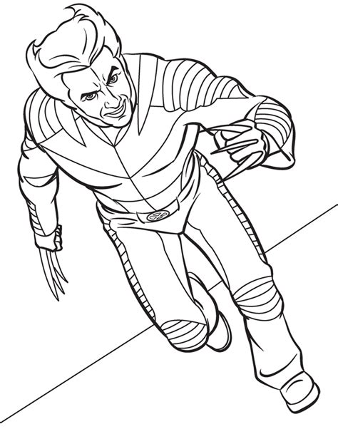 marvel coloring pages superhero coloring pages