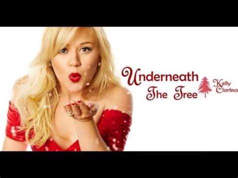 kelly clarkson underneath the tree lyrics youtube