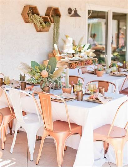 Cactus Shower Bridal Summer Inspired Themes Table