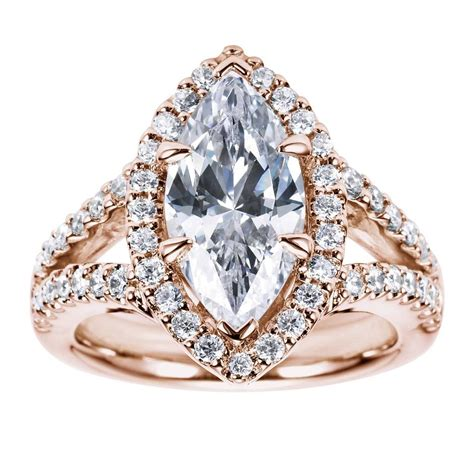 2018 popular marquise engagement rings settings