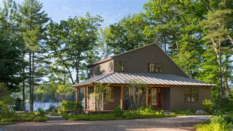 Lakeside Summer Home summer c style for a lakeside home maine homes by
