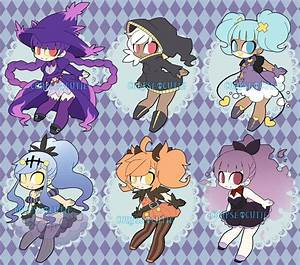 Ghost Pokemon Gijinka Adoptables [OPEN] by undead-alien on ...