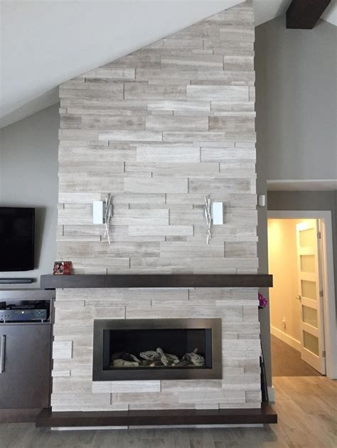 fireplace install  dominion tile ft aterthcoverings