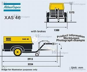 Atlas-copco Xas 46 Ddg - Atlas-copco - Machinery Specifications
