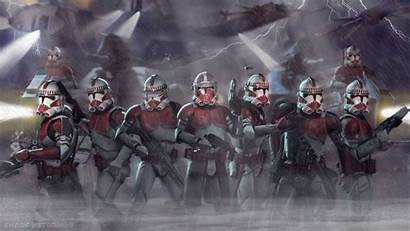 Coruscant Wars Guard 4k Star Clone Clones