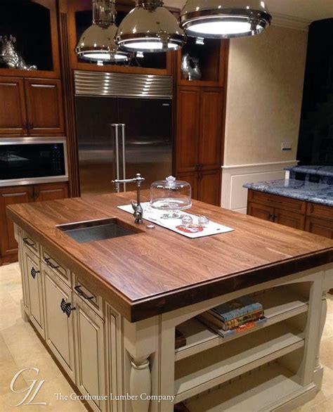 barnwood kitchen island walnut wood counter for kitchen island in florida