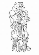 Viking Pages Norse Tattoo Colouring Tattoos Surtur Coloring Warrior Celtic Line Deviantart Lines Fantasy Adult Drawing Drawings Bear Dragon Sheets sketch template