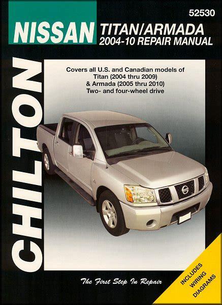 book repair manual 2005 nissan titan user handbook nissan titan armada chilton manual 2004 2010 hay52530