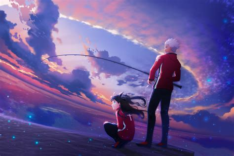 wallpaper fate series fate stay night fate stay night
