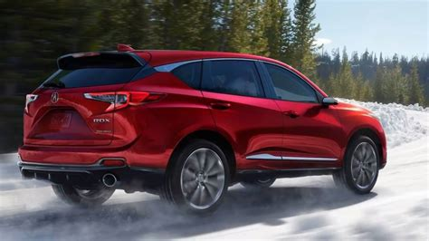 2019 Acura Suv by 2019 Acura Rdx Photos Of Restyled Luxo Suv Carscoops