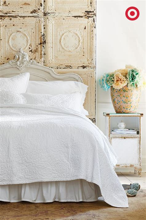 shabby chic bedding for less upgrade your classic white bedding with a stitched simply
