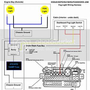 Fog Light Relay  Fuse Box Question  - Honda-tech
