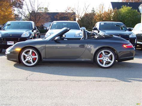 2006 Slate Grey Metallic Porsche 911 Carrera S Cabriolet