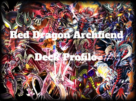 ygopro red dragon archfiend deck 2016 youtube