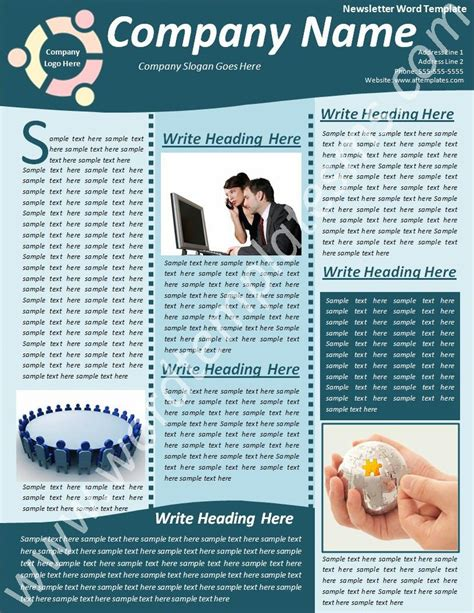 Free Christian Newsletter Templates by Free Christian Newsletter Templates Free Printable
