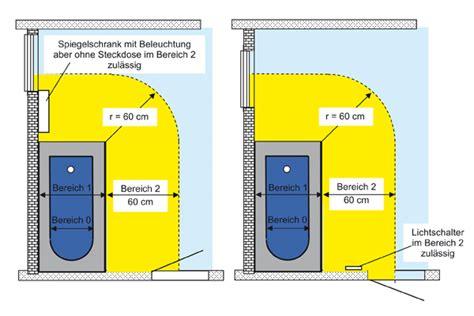 steckdosen im bad installationszonen din vde 0100 badezimmer badezimmer