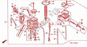 Honda Foreman 450 Carburetor Diagram