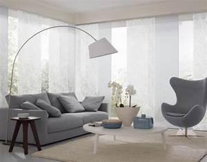 Home Design Und Deko : schiebegardinen befestigung material und ma living ~ Michelbontemps.com Haus und Dekorationen