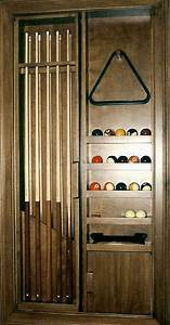 Pool Cue Cabinet - FineWoodworking