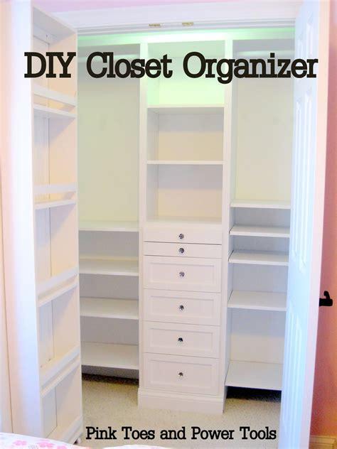 Closet Organization Plans by White Closet Organizer Diy Projects