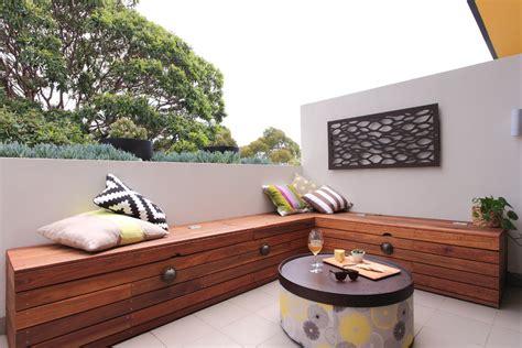 balcony storage modern storage bench dining room modern with custom cabinetry dark floor beeyoutifullife com