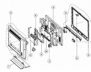 Magnavox 42mf337b Lcd Television Parts