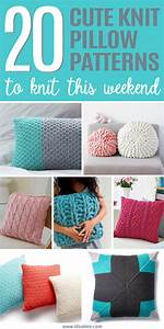 20 pillow patterns you can knit up this weekend