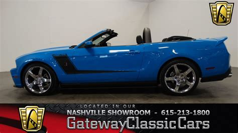 2010 ford mustang roush 427r gateway classic cars