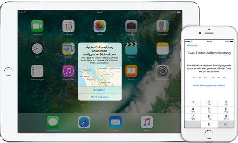 zwei faktor authentifizierung fuer die apple id apple support