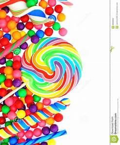 Candy Border Stock Photography - Image: 30608692