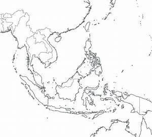 Blank Map Of Southeast Asia