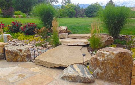 patio and landscaping rustic outdoor living in arvada mile high landscaping