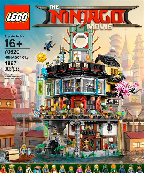 Lego Set by Cool Stuff The Lego Ninjago S Ninjago City Lego Set