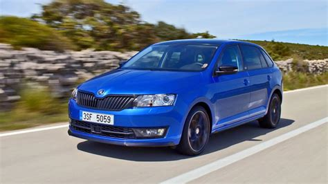 skoda rapid spaceback monte carlo  design driving