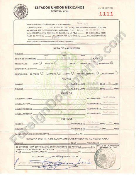 spanish death certificate templates death