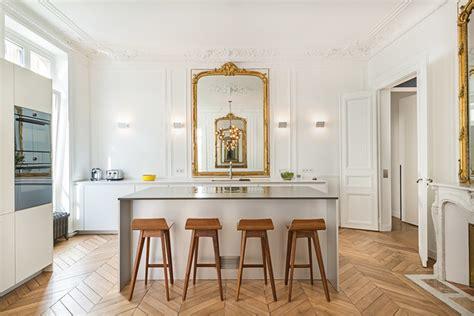 cuisine appartement parisien appartement parisien cuisine classique traditional kitchen by françois guillemin