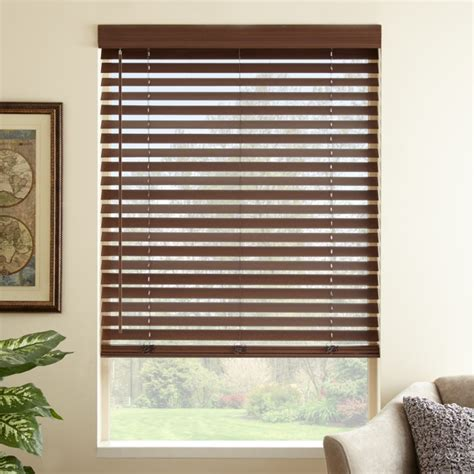 2 faux wood blinds 2 quot premium faux wood blinds select blinds canada