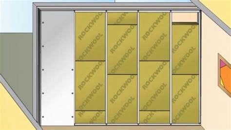 miglior isolante termico per interni realizzare una controparete di isolamento acustico