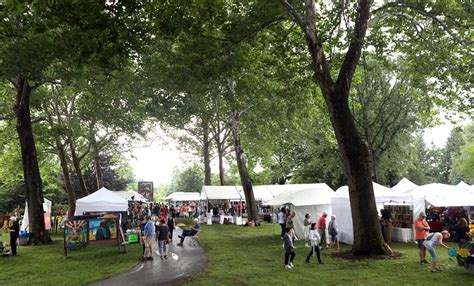 Rain Doesn't Dampen Spirits At Crosby Arts Festival The