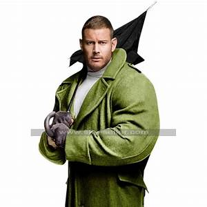 Edward Green Size Chart Tom Hopper The Umbrella Academy Luther Green Wool Trench Coat