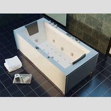Luxus Whirlpool Badewanne 182x90 + Vollausstattung