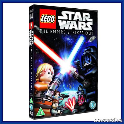Lego Star Wars The Empire Strikes Out Brand New Dvd