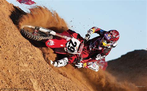 wallpaper honda motocross bull racing