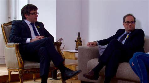Puigdemont Dice Que Torra Puede Convocar Elecciones A A
