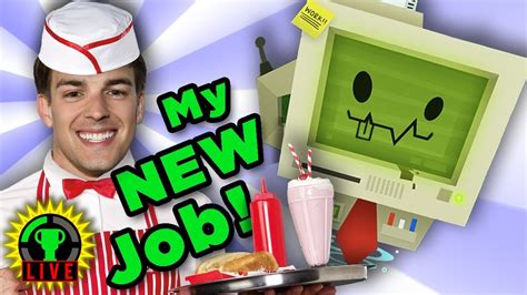 Working My New Job With Astronaut Abby!  Job Simulator Youtube