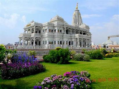 Mandir Vrindavan Prem Mathura Places Barsana Temple